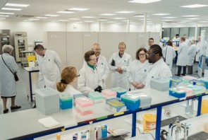 Royal visitor sees expanding Cambs pharma business